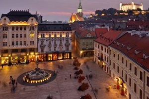 Bratislava - Adventures Croatia - Winter Nights and Sparkly Lights Tour