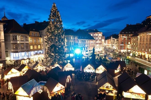 Graz - Christmastime in Austria - Adventures Croatia - Winter Nights and Sparkly Lights Tour