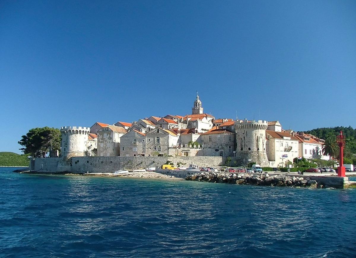 The fortified city of Korcula in Croatia - Travel Like a Local in Dalmatia - Adventures Croatia