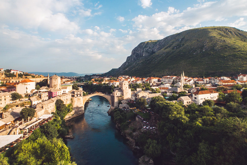 This image has an empty alt attribute; its file name is mostar-from-above.jpg