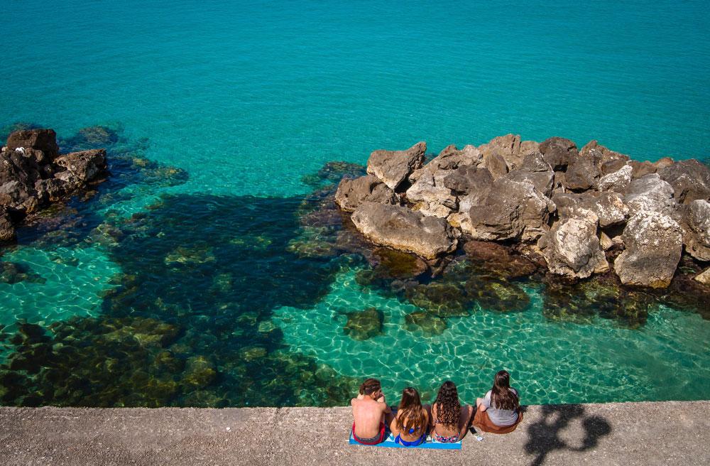 Crystal Clear Adriatic Sea